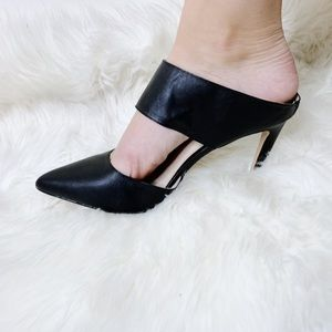 NWOT EXPRESS Pointed Toe Thick Strap High Heels